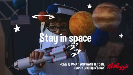 Kellogg's: Stay in space Digital Advert by Pico Adworks