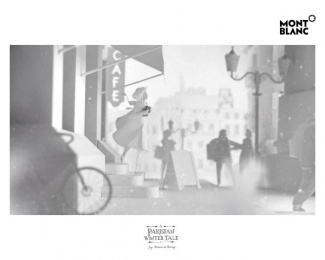 MONTBLANC: A Parisian Winter Tale, 4 Design & Branding by Scholz & Friends Berlin, Scholz & Friends Identify Berlin