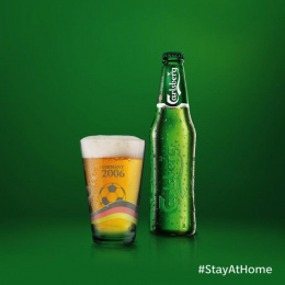 Carlsberg: #stayathome, 1 Print Ad by FCB Happiness Brussels