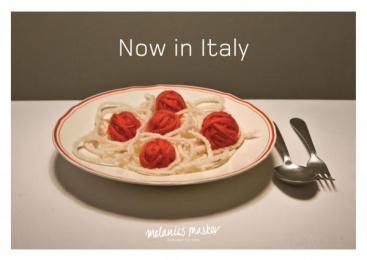 Knitwear For Kids: NOW IN ITALY Print Ad by Grey Copenhagen