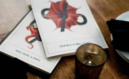 Proof Cocktails & Curiosities: Pr%F Identity, 4 Design & Branding by Wax