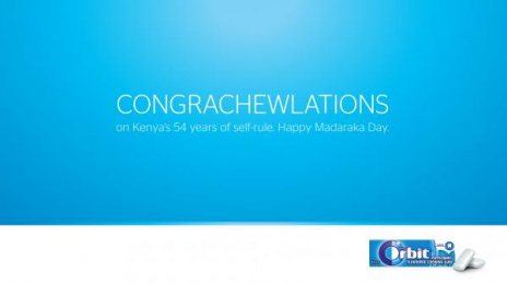 Orbit: Happy Madaraka Day Outdoor Advert by BBDOMediaedge Kenya