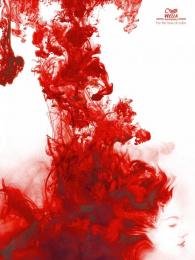Wella: RED Print Ad by Leo Burnett Manila