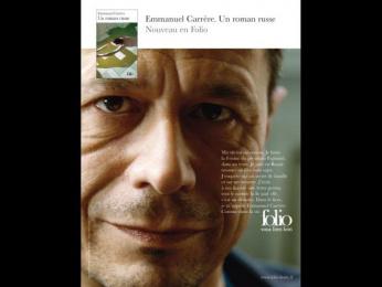 """Folio: """"Emmanuel Carrère"""" Print Ad by Quelle Belle Journee"""