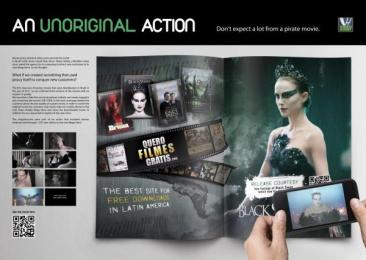 Video Hobby: BLACK SWAN Print Ad by Propeg