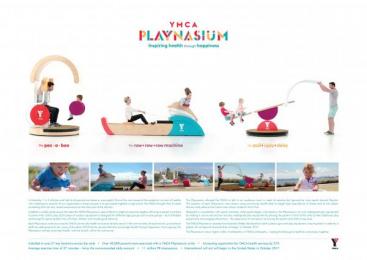 YMCA: Ymca Playnasium [presentation image] Ambient Advert by McCann Erickson Melbourne, Treehouse Studios
