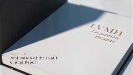 Lvmh: 2016 ANNUAL REPORT Film by Havas Worldwide Paris