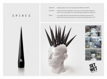 Set Wet: SPIKES Design & Branding by Contract Advertising India