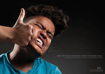 Evolution People: Bully, 1 Print Ad by Lowe Pirella Milan