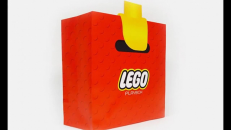 LEGO: Hand Bag Design & Branding by School Of Visual Arts