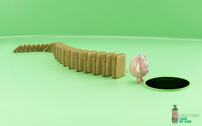 Bimbo Bakeries: Digestion Print Ad by McCann Mexico