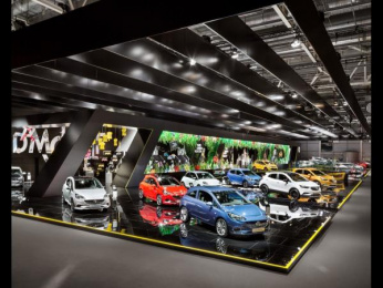 Opel: Opel Paris Motor Show 2016 [image] 1 Ambient Advert by VITAMIN E - Gesellschaft für Kommunikation Hamburg