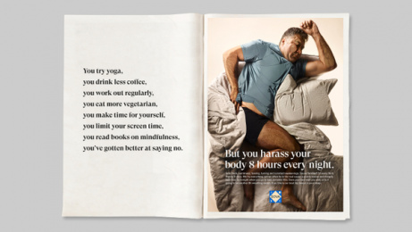 SOVA: Invest in your sleep, 1 Print Ad by Garbergs Annonsbyra