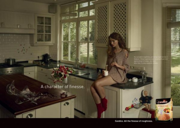 Candico: Kitchen Print Ad by Euro Rscg Brussels
