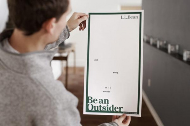 L.l. Bean: Be an Outsider, 1 Print Ad by The VIA Agency