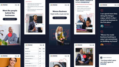 Monzo: It's business time for the UK's best-loved bank, 5 Design & Branding by Studio Output, London