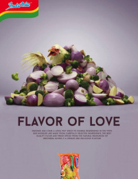 Indomie: Flavor of Love, 2 Print Ad by Team collaboration