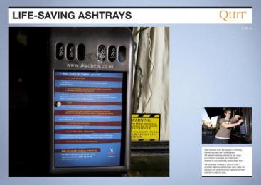 Quit: HAMMERS Ambient Advert by Saatchi & Saatchi London