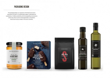 David Jones: Building a Foods Brand, 8 Design & Branding by Woolworths Agency