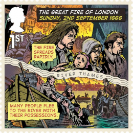 Royal Mail: Great Fire of London, 6 Design & Branding by The Chase