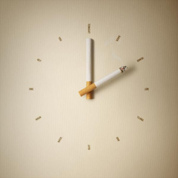 Quit: Give Time Back Print Ad by M&C Saatchi Sydney