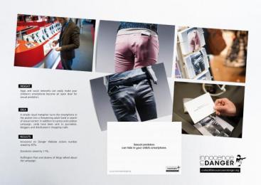 Innocence En Danger: THE HAND Direct marketing by Herezie