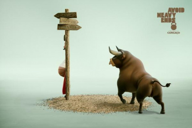 Cangaço CrossFit: Bullfight Print Ad by Bolero