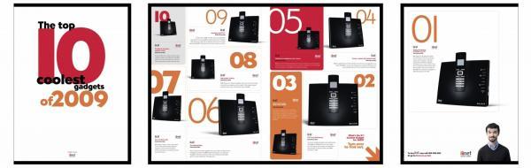 Iinet: TOP 10 GADGETS Print Ad by Meerkats