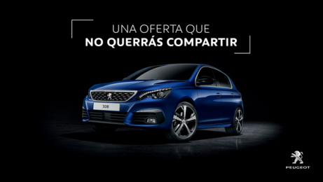 Peugeot: An offer to keep to yourself, 5 Print Ad by Havas Worldwide Madrid