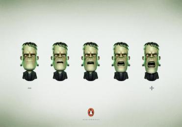 Penguin Books: Penguin Books Print Ad by Y&R Roma