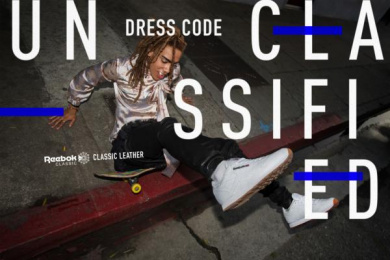 Reebok: Dress Code Print Ad by Translation