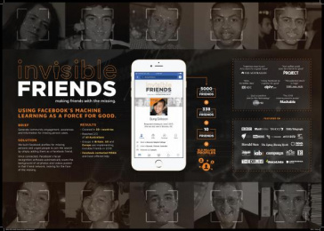 Missing Persons Advocacy Network (MPAN): Missing Persons Advocacy Network (MPAN) Digital Advert by whiteGREY