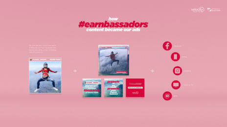 Velocity Frequent Flyer: The Earnbassadors, 5 Print Ad by CHE Proximity Australia
