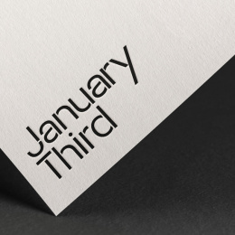 January Third: Our Birthday, 4 Print Ad by January Third