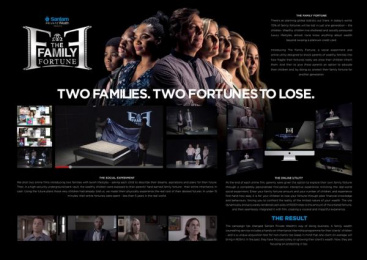 Sanlam: Sanlam Family Fortune [image] 1 Digital Advert by King James