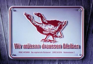 Prinz Myshkin: GOOSE Print Ad by Xynias Wetzel Von Buren