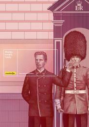 TransferGo: London Print Ad by MILK Vilnius