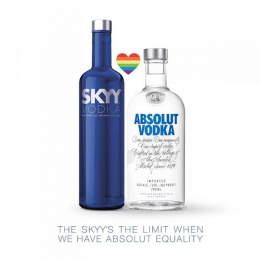 Absolut: SKYY Vodka Print Ad by Eleven, Whybin\TBWA Sydney