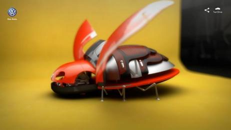 Volkswagen: Bug Configurator, 4 Digital Advert by Ogilvy & Mather Beijing, Ogilvy Beijing Lab / Beijing