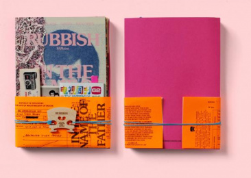 Holycrap.sg: Rubbish Famzine. In The Name Of The Father, 2 Design & Branding by Kinetic Singapore