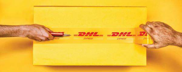 DHL: Cutter Print Ad by Grey Bangalore