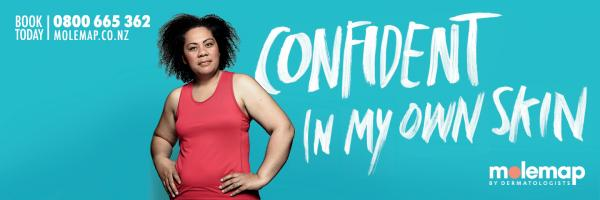 MoleMap: Confident In My Own Skin Outdoor Advert by J. Walter Thompson Auckland
