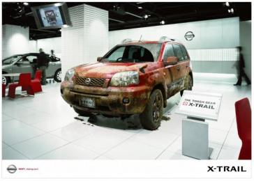Nissan X-trail: MUD Outdoor Advert by Hakuhodo Tokyo