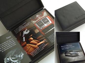 Mercedes-Benz: Test-drive brochure Design & Branding by Xi Chicago
