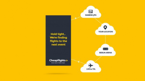 Cheapflights.co.uk: Drag, Drop and go [image] Digital Advert by Uncle Grey Copenhagen