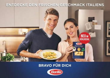 Barilla: Bravo für dichх [horizontal] Print Ad by J. Walter Thompson Frankfurt, Rabbicorn