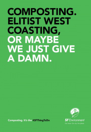 San Francisco Department of the Environment: Elitist Print Ad by School of Thought