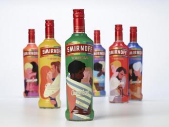 Smirnoff: Choose Love Limited Edition, 3 Design & Branding by Design Bridge Limited