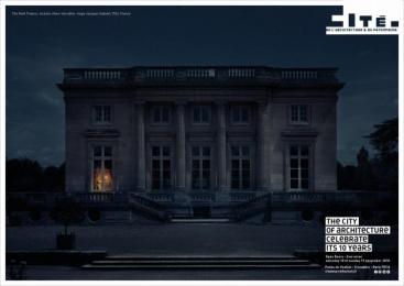 Cite De L'architecture Et Du Patrimoine: Petit Trianon Outdoor Advert by Havas Worldwide Paris