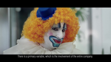 Treccani: The Clown Film by J. Walter Thompson Italy, Think Cattleya